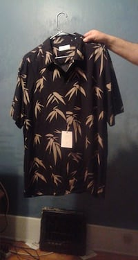 Brand New Mans Toscano Firenze by Patrick Assaraf SS Shirt. XXL Windsor