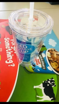 New Iced beverage cup with straw Parkville, 21234