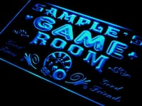 Personalized Custom Game Room  LED Light  Mount Holly, 28120