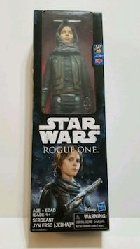 STAR WARS ROGUE ONE SEARGENT JYN ERSO 12 INCH TOYS San Antonio