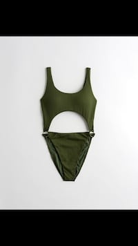 Olive green swimsuit brand new with tags Calgary, T3G 4E1