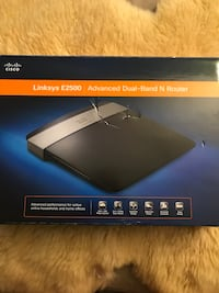 Linksys E2500 dual band router Alexandria, 22303