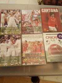 8 Sports dvds  Jessup, 20794