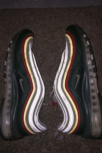 Air Max 97 yellow red and green. Men's 9.5 Calgary, T3M 2R4