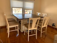 Dining Room Table +8chairs Furniture of America Like New