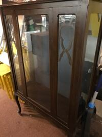 Antique Cario cabinet, first hundred dollars  takes it Baltimore, 21224