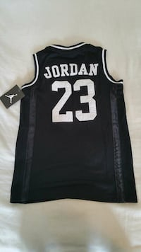 Black/White Jordan Mesh Basketball jersey