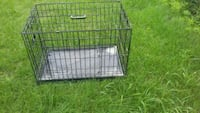 black metal folding dog crate Laval, H7V 2T6