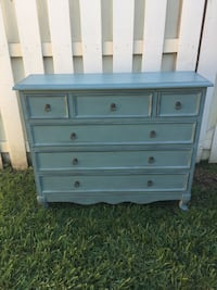 Used Beautiful Blue Dresser Or Entryway Piece For Sale In Cocoa Letgo