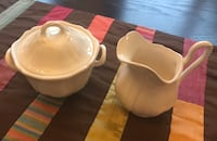 Wedgewood sugar bowl and creamer Leesburg, 20176