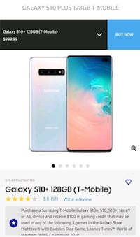 Samsung Galaxy s10+ 128gb  Anchorage, 99508