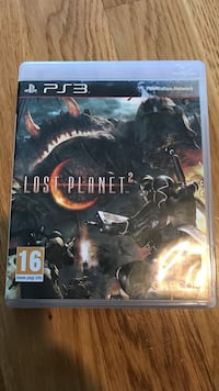 Lost Planet 2 ps3 spel fall Malmö