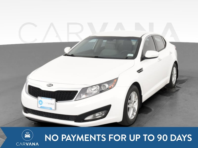 2013 Kia Optima sedan LX Sedan 4D White  0