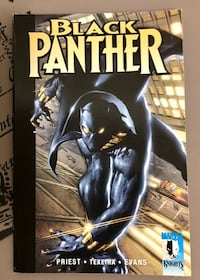 Black Panther The Client Comic 2001 London, N6E 1G2