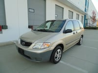 2000 Mazda MPV DX AUTOMATIC AIR LOCAL WELL KEPT VAN! NEW WESTMINSTER, V3M 0G6