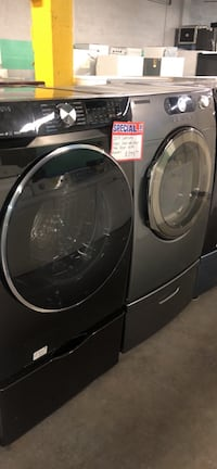2019 Samsung front load washer and dryer set Baltimore, 21223