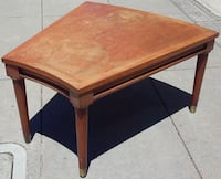 #17145 Mid Century Trapezoidal End Table Oakland, 94610