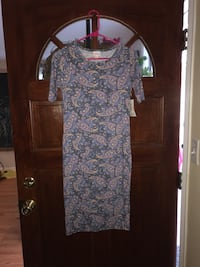 Lularoe Julia Dress 567 mi