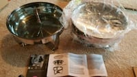 Two 4QT charging dishes, new Colorado Springs, 80915