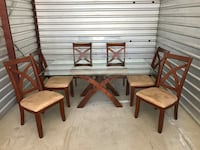 Super nice dining table with six chairs Vernalis, 95385
