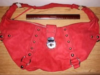 GUESS  Red Suede Handbag  London, N6B 2K6
