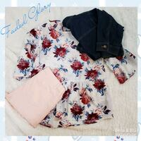 Faded Glory Floral Peplum Top Hagerstown, 21740