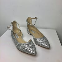 Pair of women's silver pumps Seattle, 98118