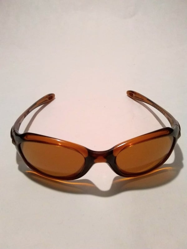 Oakley Xs Youth Kids Brown Wrap Sunglasses 2