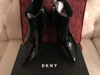 BRAND NEW DKNY PATENT LEATHER BLACK BOOTS  Manassas, 20109