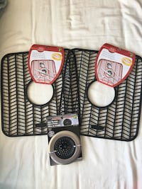 BRAND NEW Sink mats and strainer Mississauga, L5B 3Z9