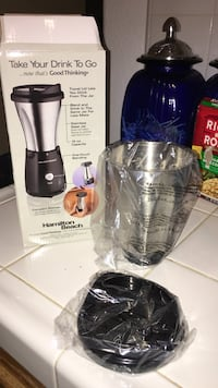 New! blender for 1 cup to go
