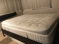 white mattress and black wooden bed frame 3751 km