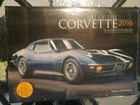 NEW! Corvette Calendar 2016 Vaughan