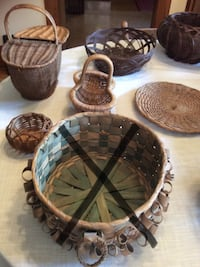 Assorted wicker baskets London, N6B 2B2