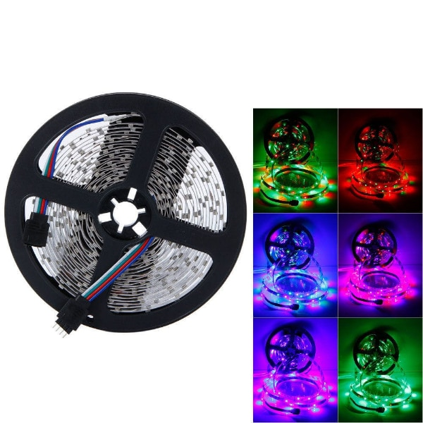 LED Light Strip - 5 Meters (with Adapter and Plug) 9a5623cb-012d-43f0-b78e-dbe0419b85cd