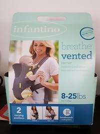 Infantino breathe vented carrier  Lodi, 07644
