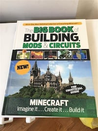 Minecraft - The Big Book of Buildings, Mods & Circuits hard cover  Markham