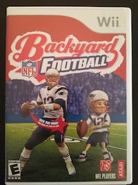 Nintendo Wii Backyard Football  Vaughan, L4L