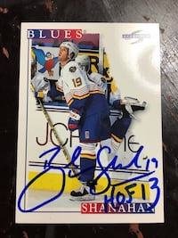AUTOGRAPHED HOCKEY CARDS Mississauga, L5N 2W2