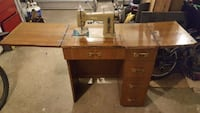 Necchi Sewing machine & table $250 Port Moody, V3H 2K5
