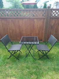 Bistro outdoor patio set Langley, V2Y 0H6