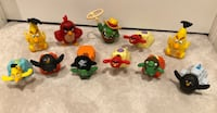 Angry Birds- Happy Meal Toys  Mississauga, L5K