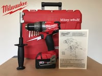 """Milwaukee m18 Fuel Cordless Drill/Driver 18V 1/2"""" West Covina, 91791"""