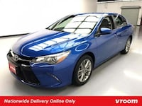 2017 Toyota Camry Blue sedan Houston, 77002