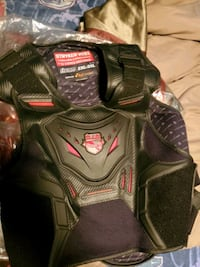 Icon motorcycle field armor chest protector