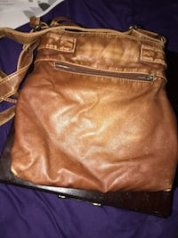 brown leather crossbody bag screenshot Oshawa, L1H 6H5