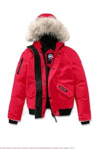 Canada Goose re Chilliwack bomber jacket red small Toronto, M6M