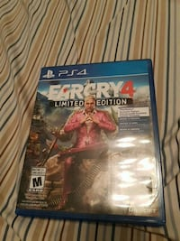 Farcry 4 PS4 game case Chilliwack, V2R 3P2
