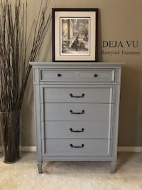 Beautiful, Classic Tallboy Dresser