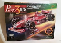 Puzz 3D Williams FW20 Jigsaw Puzzle wrebbit formula1 car racing sealed Vaughan